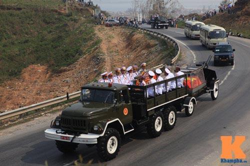 Toàn cảnh Lễ an táng Đại tướng Võ Nguyên Giáp - 2