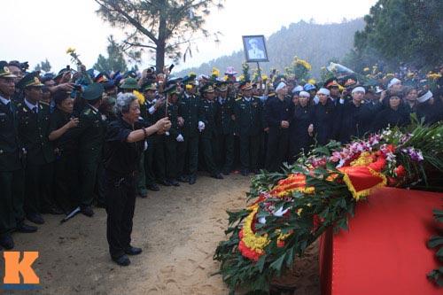 Toàn cảnh Lễ an táng Đại tướng Võ Nguyên Giáp - 26