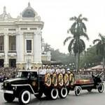 Tin tức trong ngày - Video linh cữu Đại tướng qua các phố Thủ đô