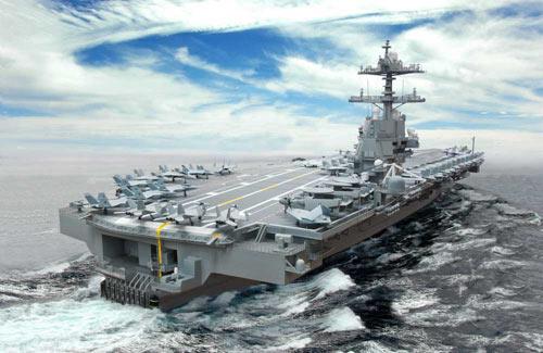 Mỹ thử nghiệm siêu tàu sân bay hạt nhân - 2