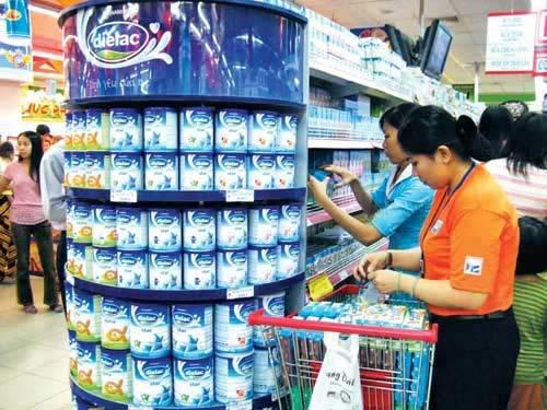Hàng tháng công bố danh mục sữa dành cho trẻ em - 1
