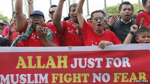"""Malaysia: Người Hồi giáo """"độc quyền"""" từ Allah - 1"""