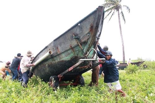 Đà Nẵng hối hả phòng chống bão Nari - 2