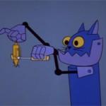 Video funny TOM & JERRY: Chuột máy, mèo máy