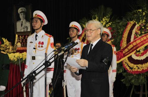 Toàn cảnh Lễ truy điệu Đại tướng Võ Nguyên Giáp - 6