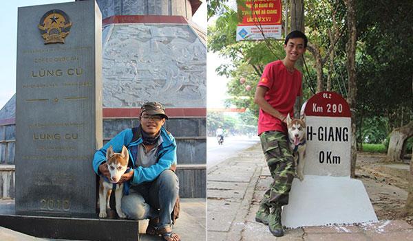 Chú chó theo chủ phượt khắp Hà Giang - 2