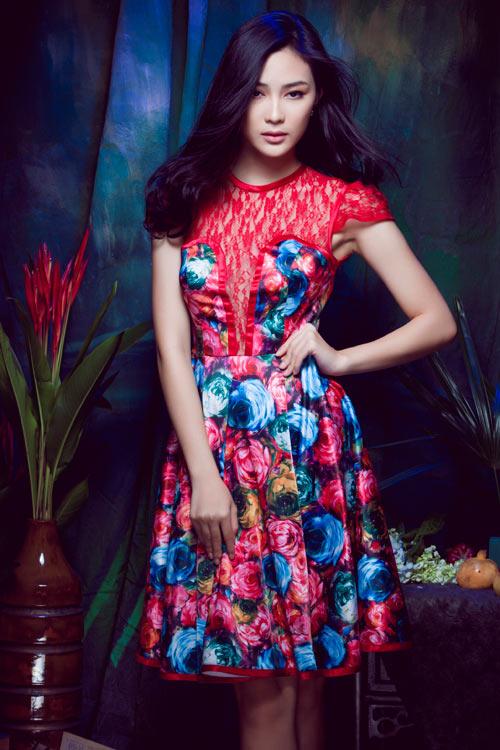 Hot girl Việt gợi cảm cùng cỏ hoa - 7