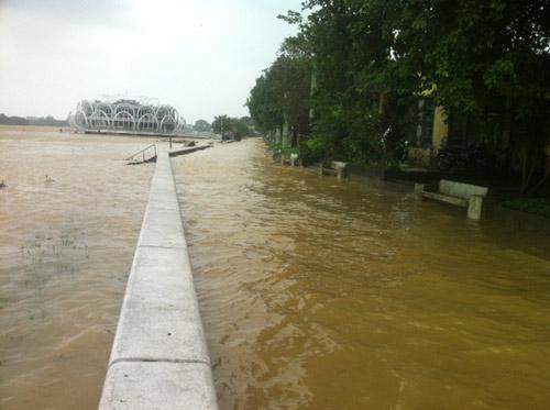 Thừa Thiên Huế: Nước sông Hương dâng cao - 10