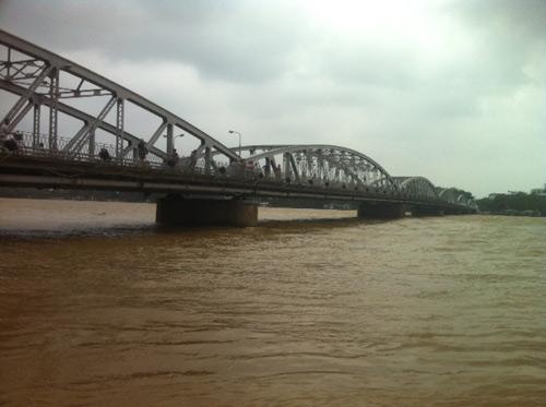 Thừa Thiên Huế: Nước sông Hương dâng cao - 1