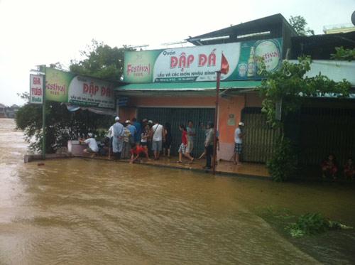 Thừa Thiên Huế: Nước sông Hương dâng cao - 8