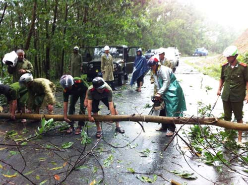 Thừa Thiên Huế: Nước sông Hương dâng cao - 3