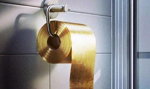 Cuộn giấy vệ sinh giá  27,5 tỷ đồng - 1