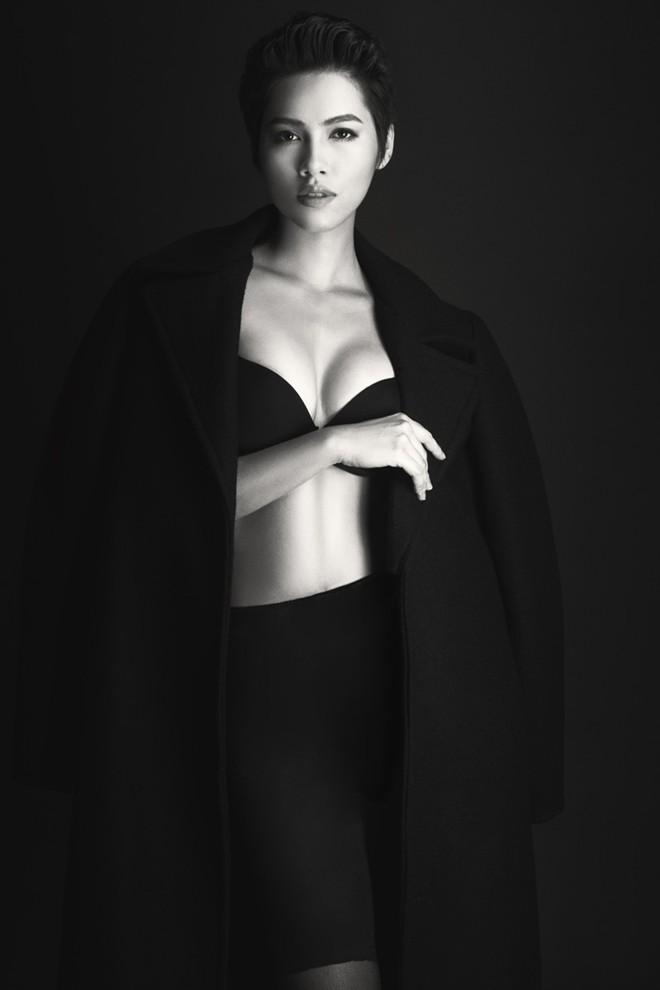 Á hậu Hoàng My: Sau bán nude là nội y! - 1