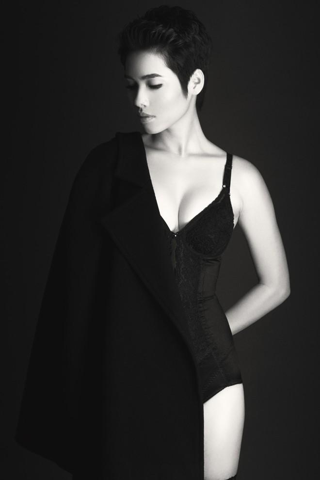 Á hậu Hoàng My: Sau bán nude là nội y! - 2