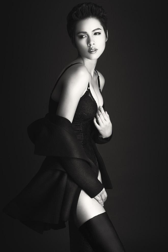 Á hậu Hoàng My: Sau bán nude là nội y! - 6