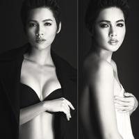 Á hậu Hoàng My: Sau bán nude là nội y!
