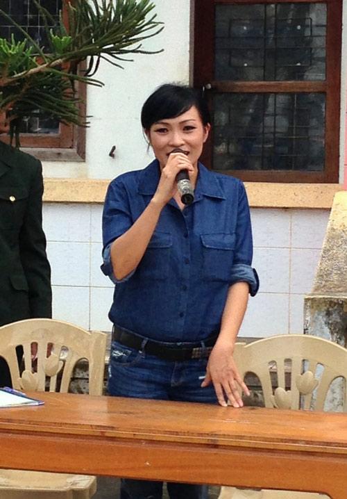 Phương Thanh thay Siu Black làm từ thiện - 4
