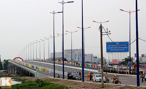 TPHCM chính thức thông xe cầu Sài Gòn 2 - 11