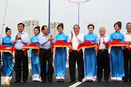 TPHCM chính thức thông xe cầu Sài Gòn 2 - 2