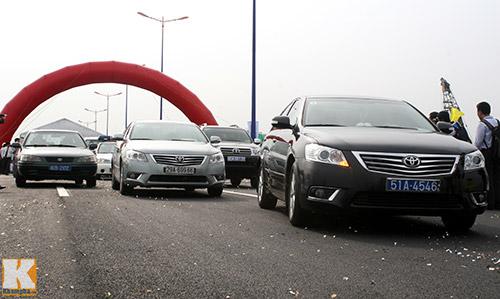 TPHCM chính thức thông xe cầu Sài Gòn 2 - 3