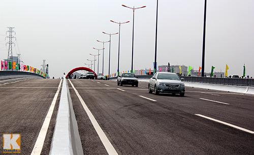 TPHCM chính thức thông xe cầu Sài Gòn 2 - 4
