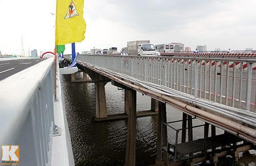 TPHCM chính thức thông xe cầu Sài Gòn 2 - 8