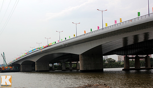 TPHCM chính thức thông xe cầu Sài Gòn 2 - 9