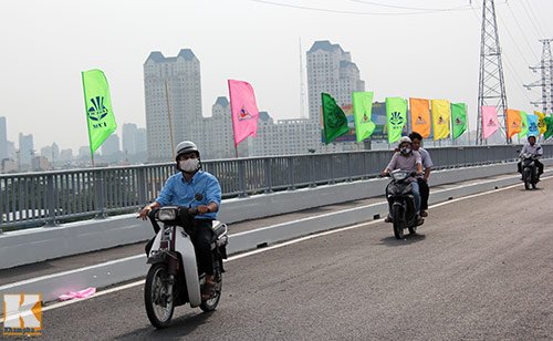 TPHCM chính thức thông xe cầu Sài Gòn 2 - 6
