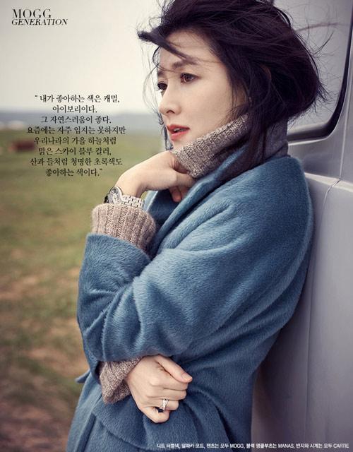 Bộ ảnh độc quyền tuyệt đẹp của Lee Young Ae - 12