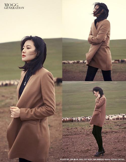 Bộ ảnh độc quyền tuyệt đẹp của Lee Young Ae - 1