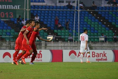 U23 VN ngược dòng hạ chủ nhà Myanmar - 2