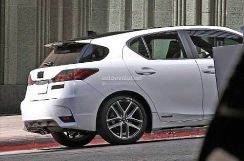 Lexus CT 200h 2014 bắt đầu cho chạy thử - 2