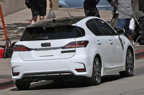 Lexus CT 200h 2014 bắt đầu cho chạy thử - 3