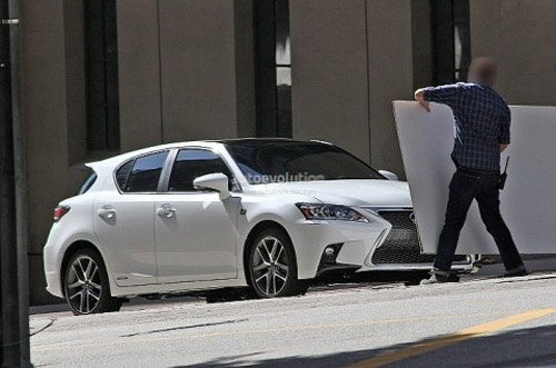 Lexus CT 200h 2014 bắt đầu cho chạy thử - 8