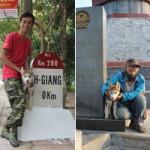 Bạn trẻ - Cuộc sống - Chú chó theo chủ phượt khắp Hà Giang