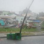 Tin tức trong ngày - Tâm bão Nari đã ở biên giới Việt - Lào