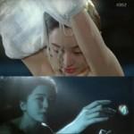 """Hậu trường phim - Yoon Eun Hye quay cảnh """"tắm tiên"""""""