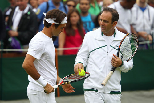 Annacone trải lòng về Federer - 1