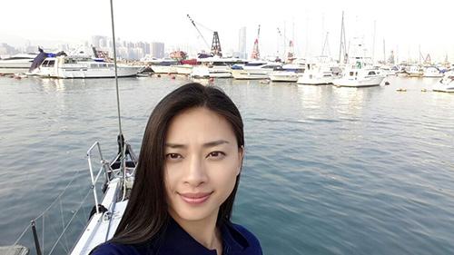 Vân Ngô đến Hồng Kông đua thuyền buồm - 2