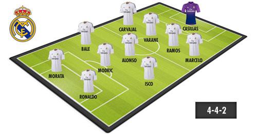 Fan Real mơ Ronaldo đá cặp Morata - 1