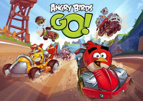 Game Angry Birds có phiên bản đua xe - 1