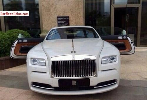 Rolls-Royce Wraith về Trung Quốc giá 820.000 USD - 1