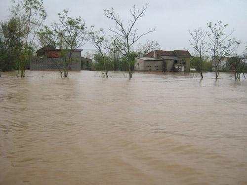 Quảng Bình: Hàng vạn ngôi nhà bị lũ nhấn chìm - 2