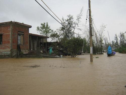 Quảng Bình: Hàng vạn ngôi nhà bị lũ nhấn chìm - 3