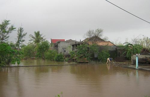 Quảng Bình: Hàng vạn ngôi nhà bị lũ nhấn chìm - 5