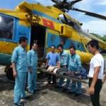 Tin tức trong ngày - Dùng trực thăng cấp cứu một ngư dân trong bão