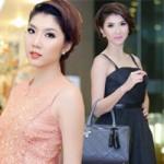 Thời trang - Chọn váy xòe duyên dáng như Ngọc Quyên