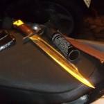 An ninh Xã hội - NK141: Đoản kiếm mạ vàng trong cốp xe
