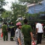 Tin tức Sony - Có điện trở lại sau bão, 2 ngôi nhà cháy dữ dội