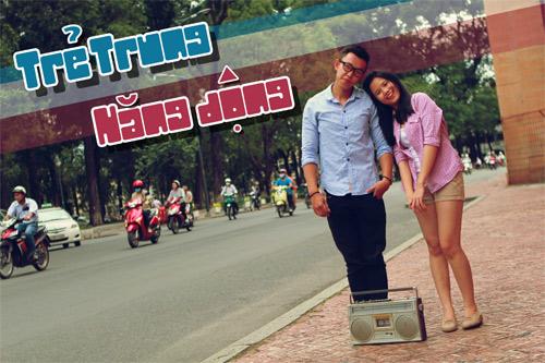 Ngắm thời trang đôi sành điệu ở Sài Gòn - 12